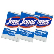 3 Bags 14 oz. Jones Original Wavy Potato Chips
