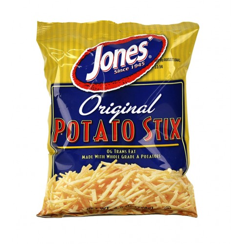 12 Bags Jones Potato Stix Mix and Match 4.5 oz.