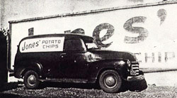 Early delivery truck