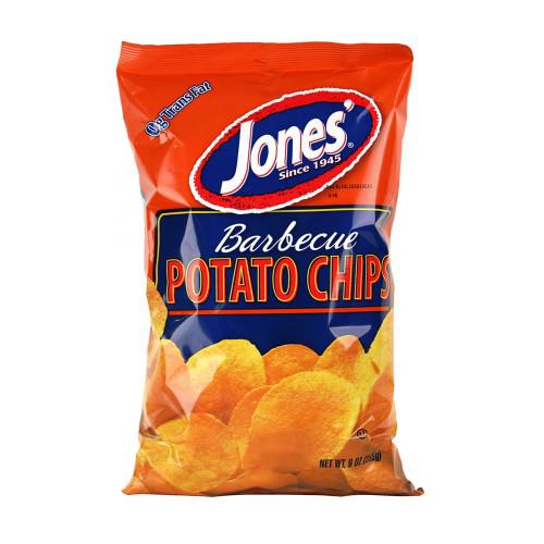 BBQ Potato Chips 9 oz, 2.25 oz, 1 oz
