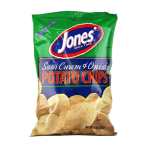 Sour Cream & Onion Potato Chips 9 oz, 2.25 oz