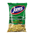 Wavy Sour Cream & Onion Potato Chips 9 oz, 2.25 oz